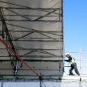Reklam: Väderskydd för bygg och anläggningsarbeten