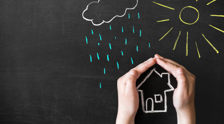 Skydda bygget från oväder, enligt Boverket