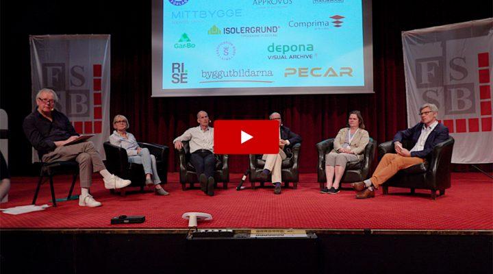 Film: Sammandrag av debatten på FSB 2018 i Sundsvall
