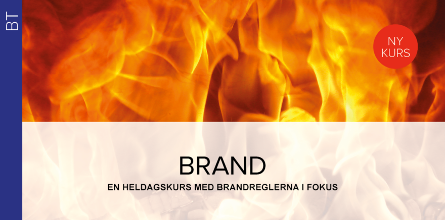 Kurs-annons: Brand