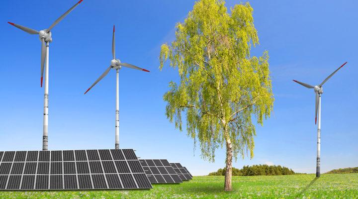 Den förnybara elproduktionen når mål i förtid