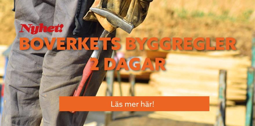 Kurs-annons: Boverkets byggregler, 2 dagar