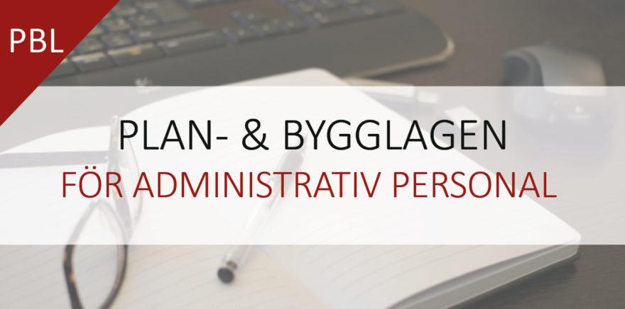 Kurs-annons: PBL för administrativ personal